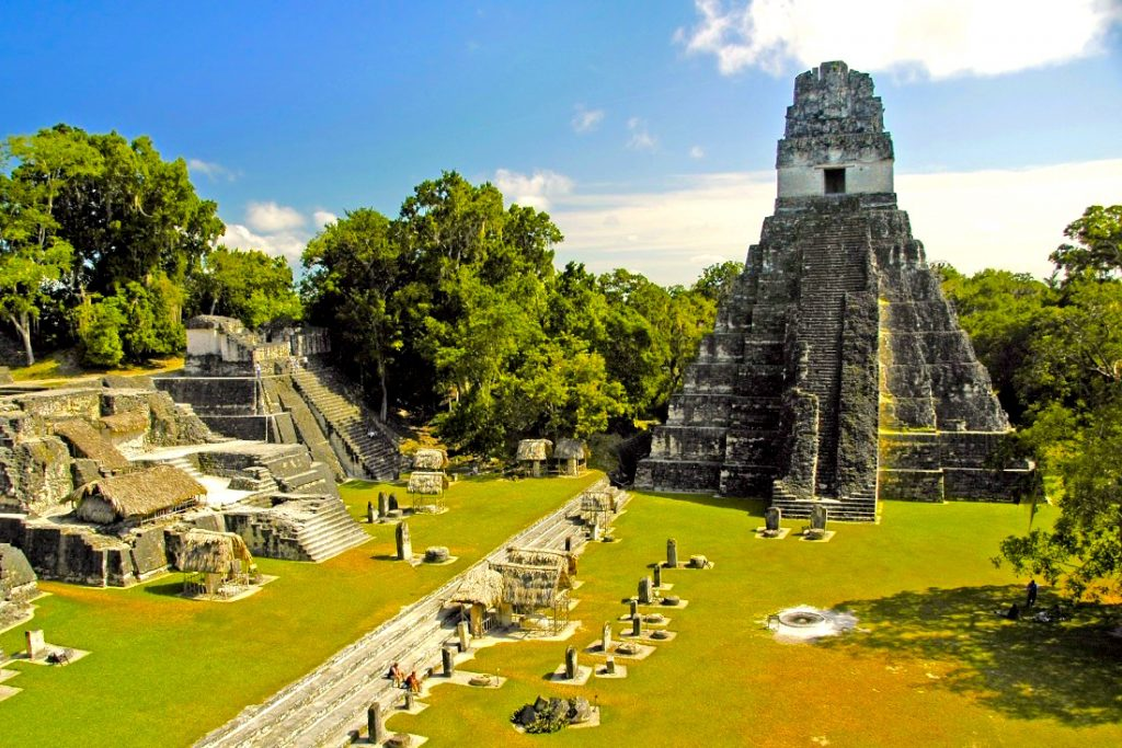 Lustrumreizen Guatemala Tikal