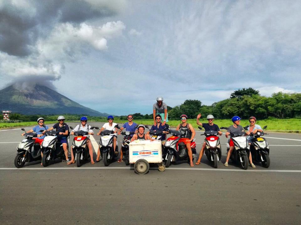 Lustrumreis Nicaragua JC Eisbaren