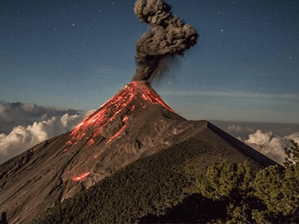 Acatenango-Vulkaan-Guatemala