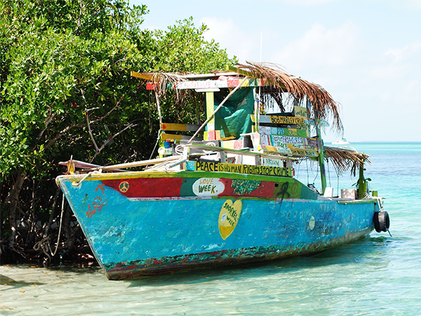 Caye-Caulker-Belize-Lustrumreis-beach