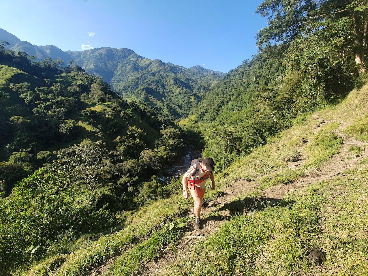 Colombia Cocorna Santo Domingo Hike Piet