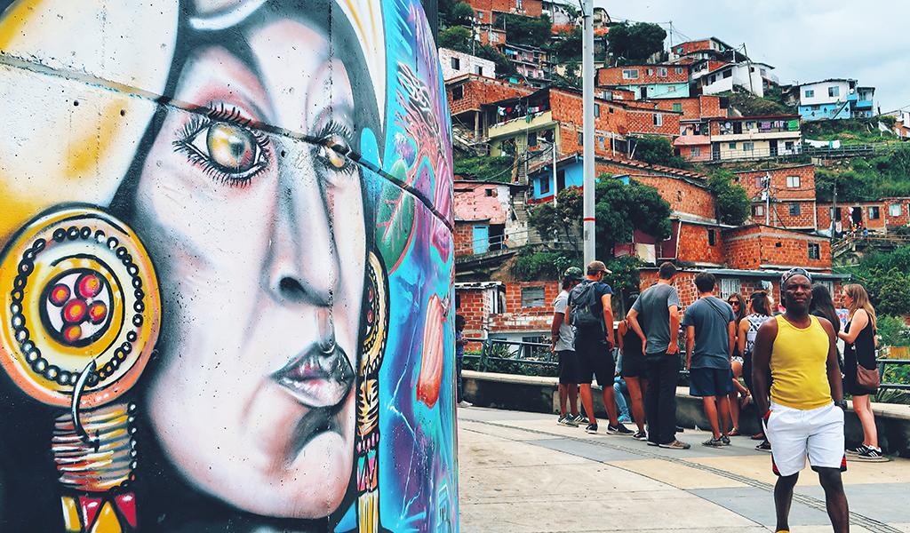 Comuna13-Colombia-Medellin-Lustrumreis