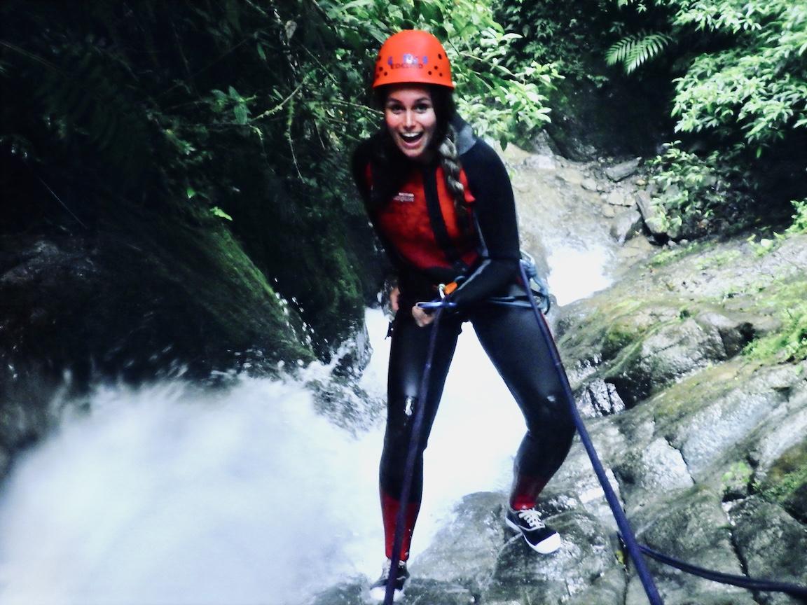 Ecuador Banos Canyoning 1