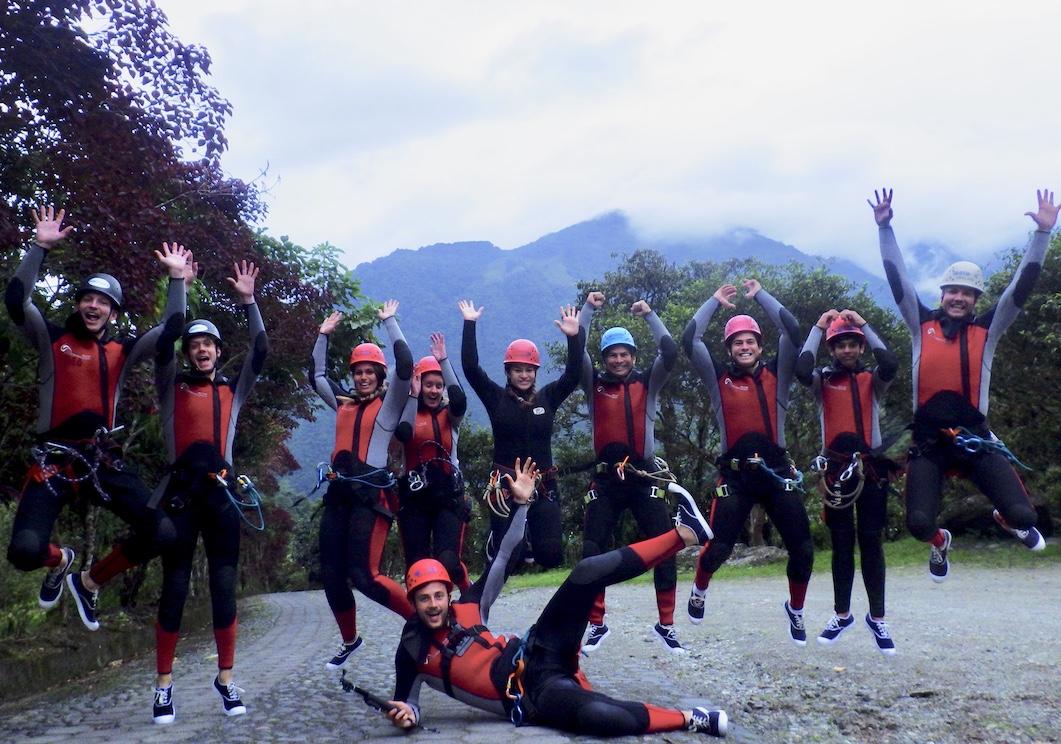 Ecuador Banos Rafting 1