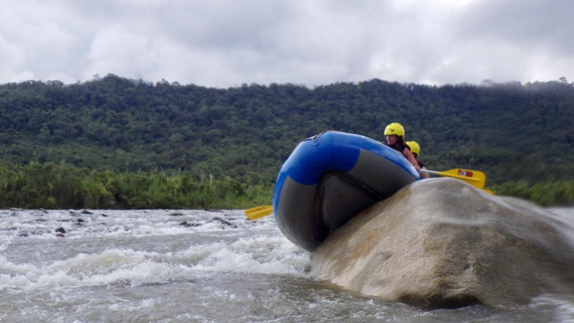 Ecuador Banos Rafting 2
