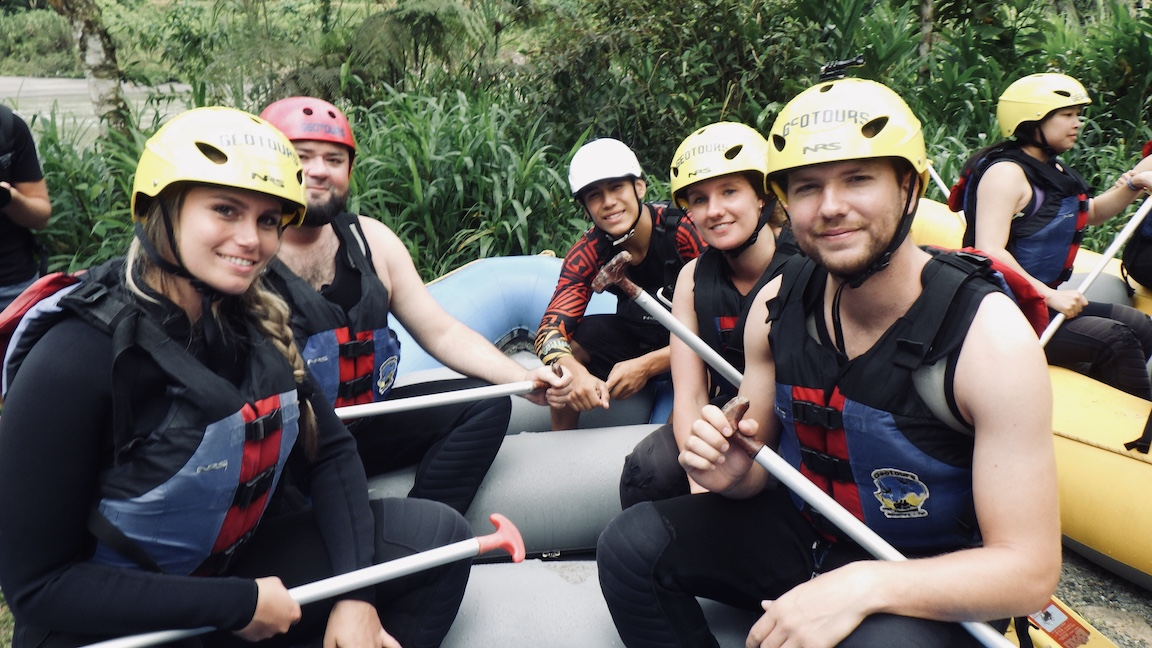 Ecuador Banos Rafting 3
