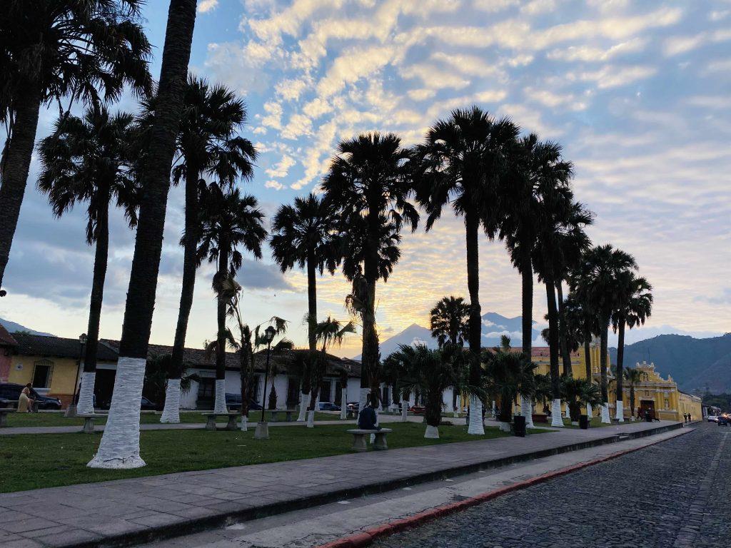 Guatemala Lustrumreis Antigua Parque el Tanque