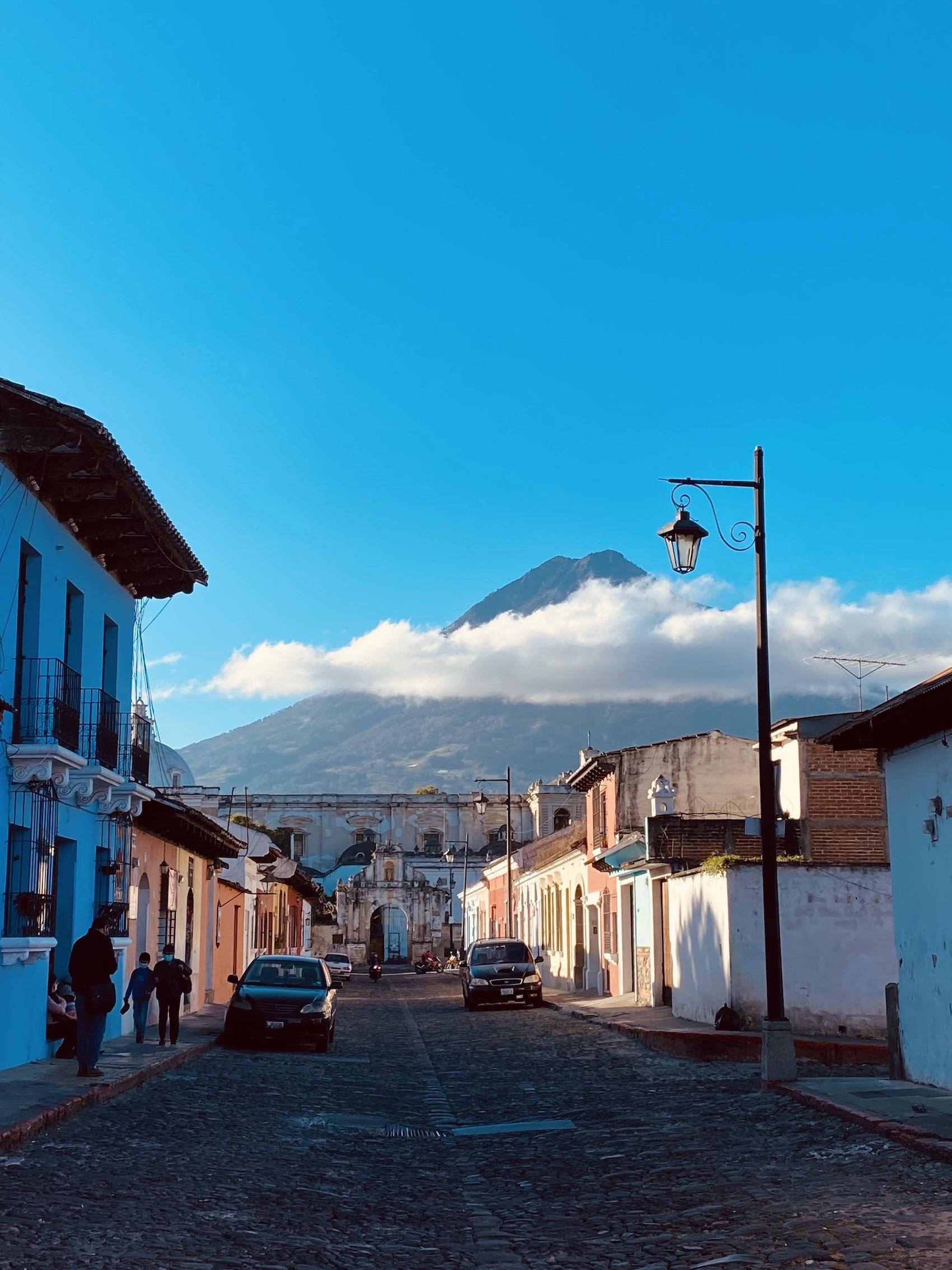 Guatemala Lustrumreis Antigua Vulkaan