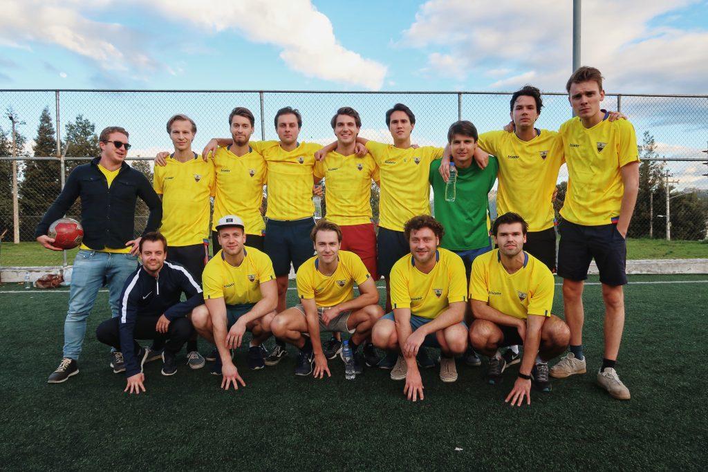 Lustrumreis Ecuador Quito Voetballen Anne2 123