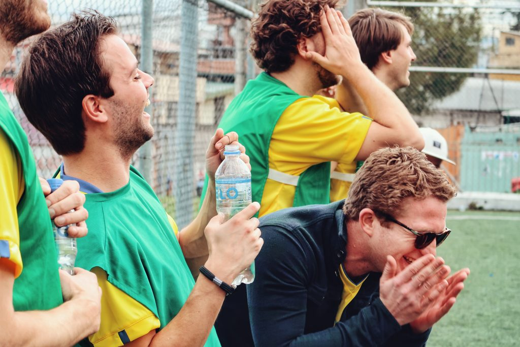 Lustrumreis Ecuador Quito Voetballen Anne3 123