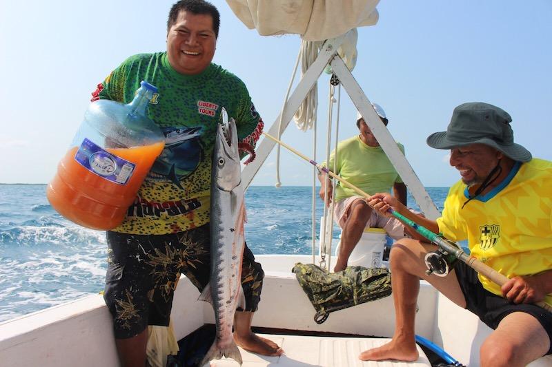 Lustrumreis Belize Caye Caulker Baracuda