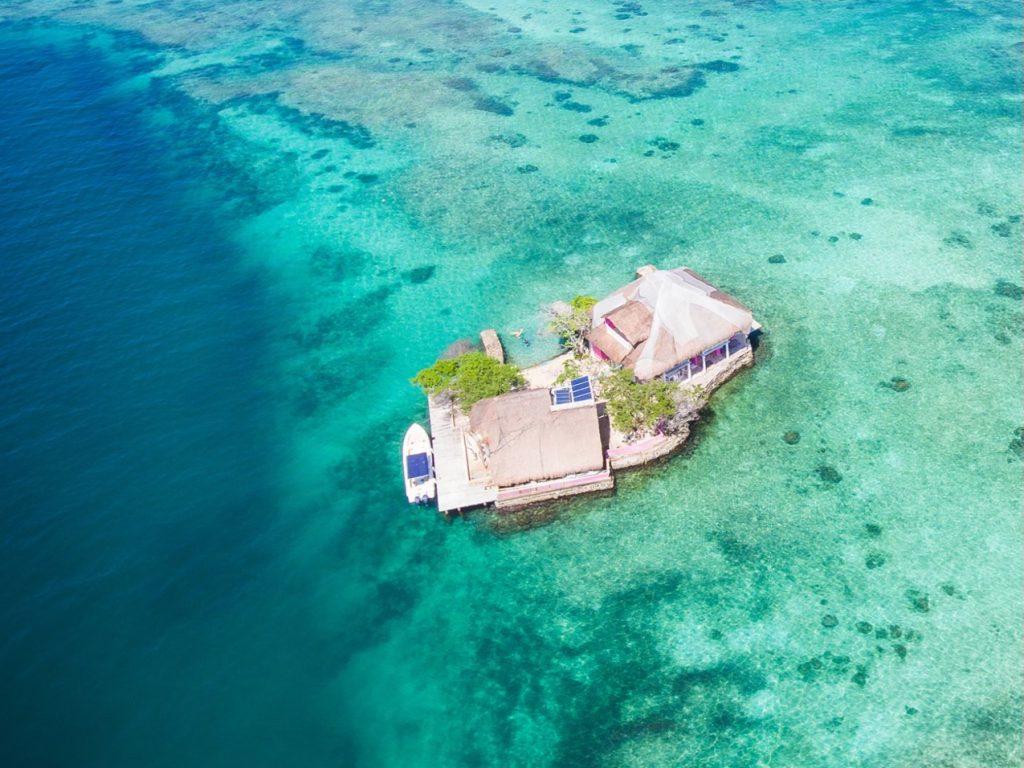 Lustrumreis Colombia Rosario Islands