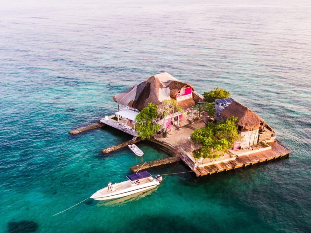 Lustrumreis Colombia Rosario Islands Cartagena