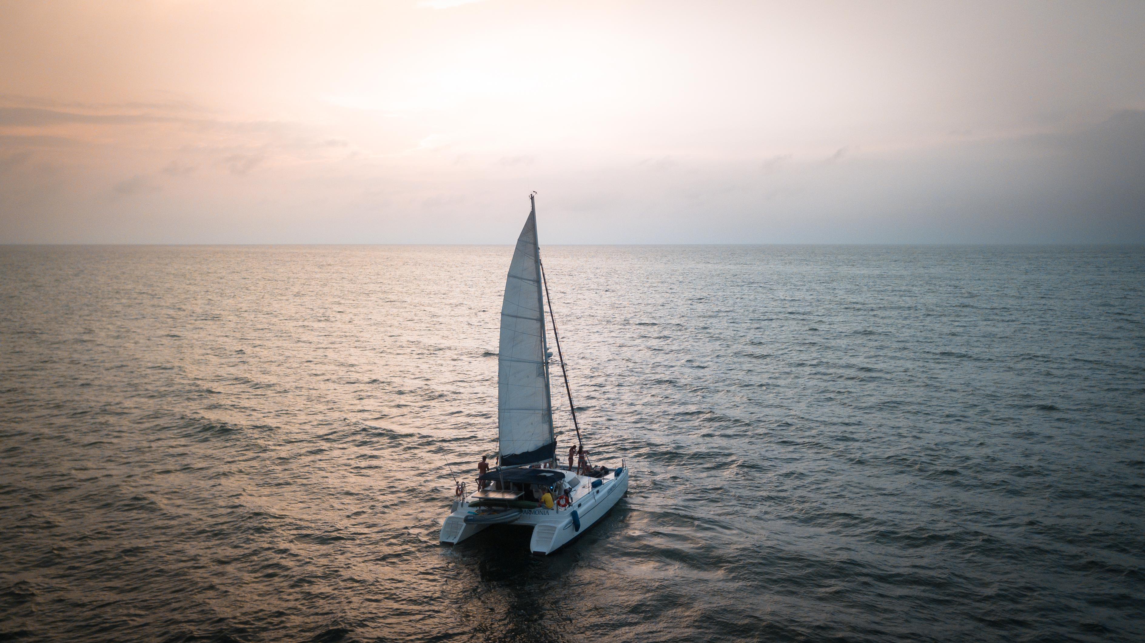 Lustrumreis ColombiaCartagena Catamaran Sailing 123
