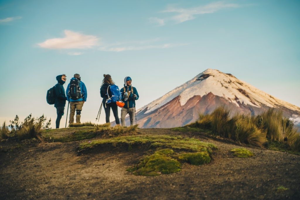 Lustrumreis Ecuador Cotopaxi National Park Ruminahui hike