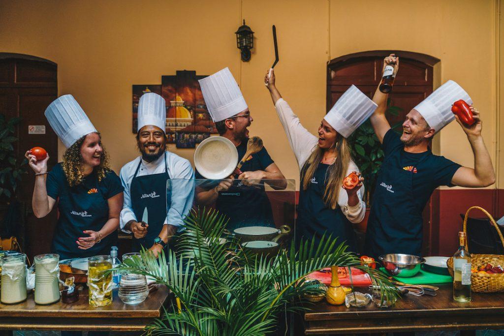 Lustrumreis Ecuador Quito Cooking Class