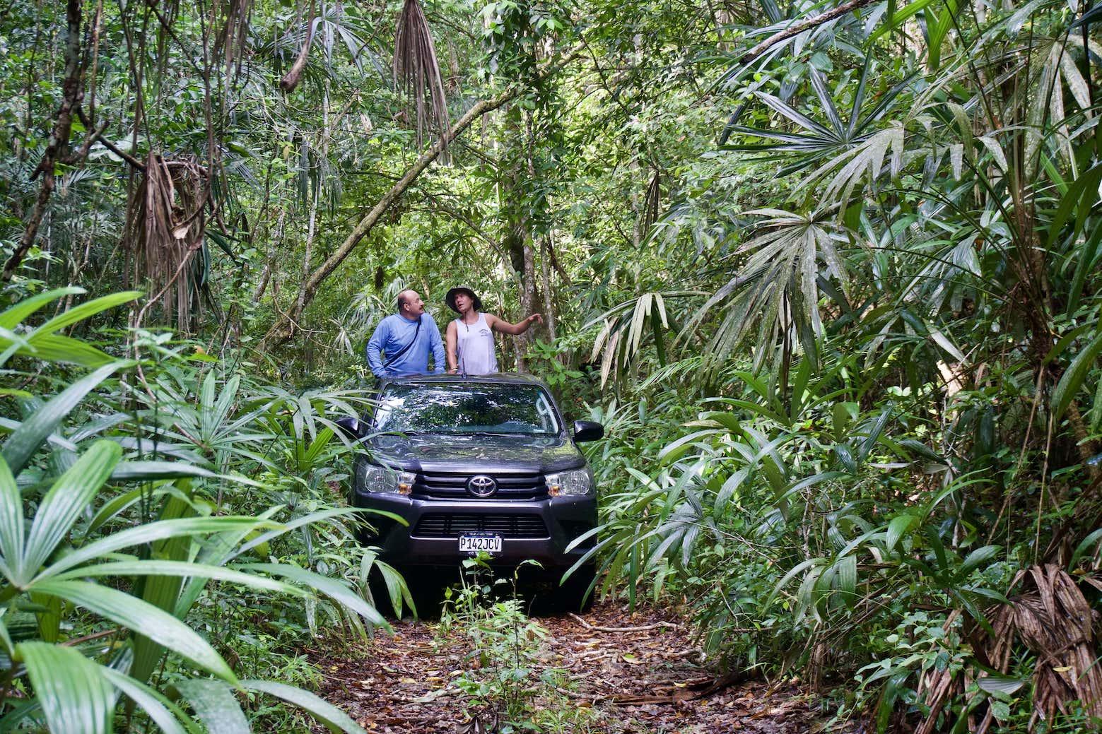 Lustrumreis Guatemala 4x4 Peten Hilux Selva
