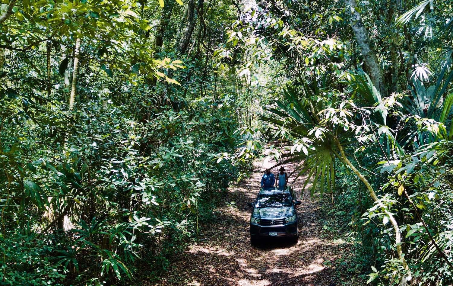 Lustrumreis Guatemala 4x4 Peten Jungle Drive
