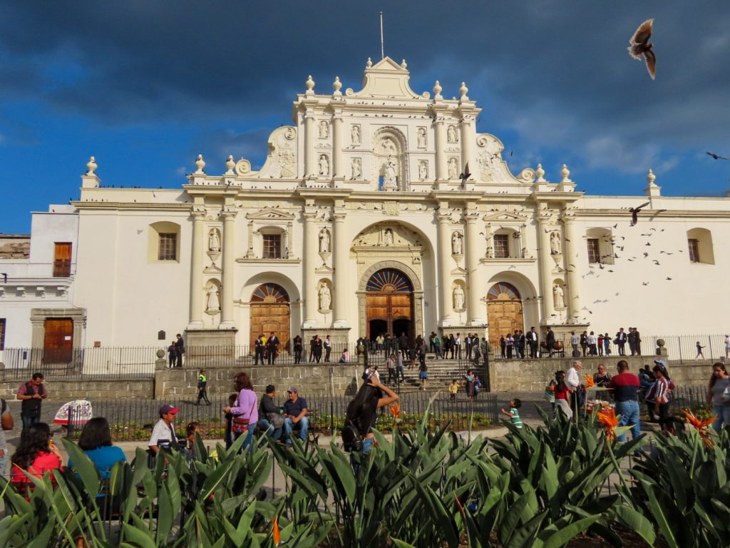 Lustrumreis Guatemala - Antigua - Parque Central - 2