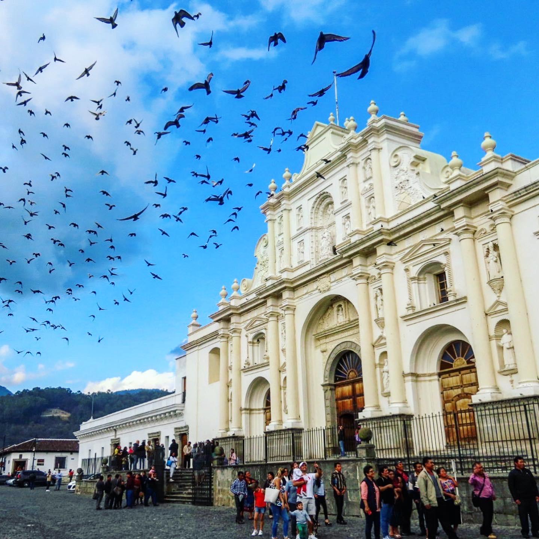 Lustrumreis Guatemala - Antigua - Parque Central - 4