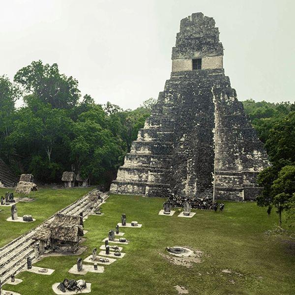 Bezoek de Maya tempel in Tikal tijdens je lustrumreis door Guatemala