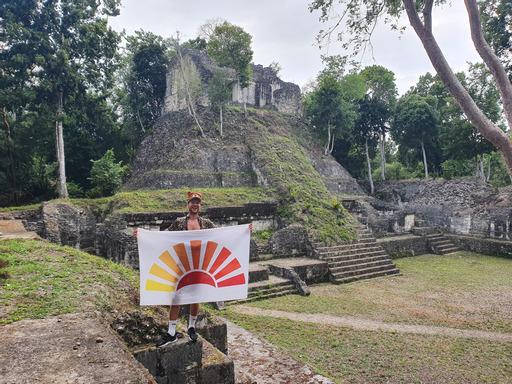 Lustrumreis Guatemala Yaxha Nakum 4x4 Jel LF Vlag