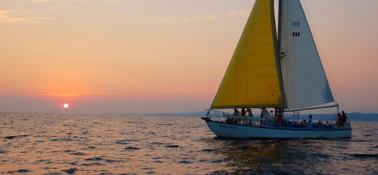 Lustrumreis Mexico Huatulco Sailtrip Zeilboot Sunset