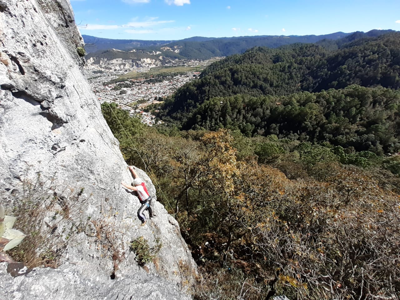 Lustrumreis Mexico San Cristobal de las Casas Rock Climbing 1