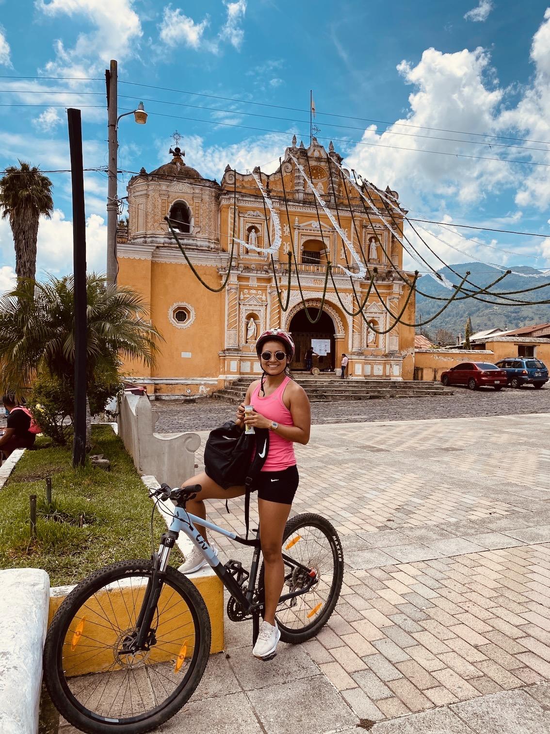 Mountainbike Antigua Guatemala 2