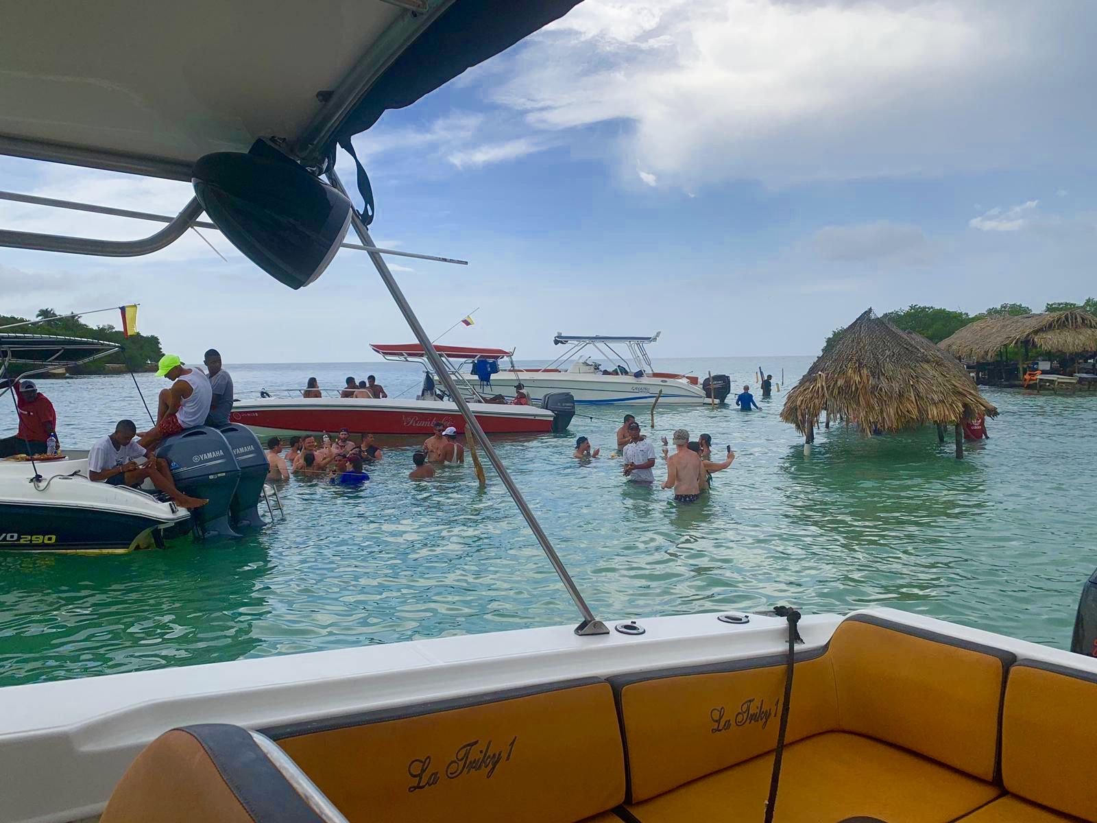 Colombia Cartagena Speedboat trip