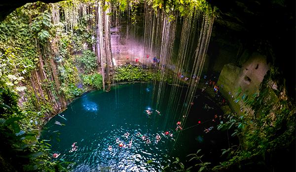 Cenote-Valladolid-Mexico