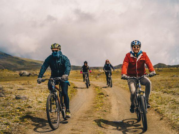 Ecuador Cotopaxi mountainbiken downhillen secret garden hostel 1