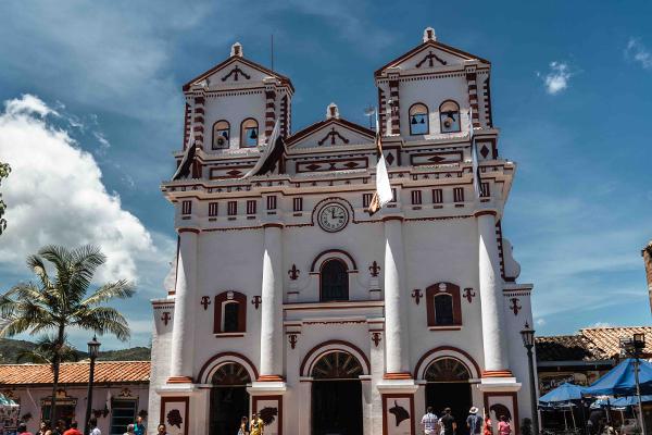 Guatape-Colombia-Church