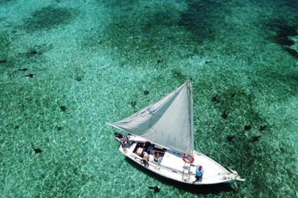 Lustrumreis Caye Caulker Boot