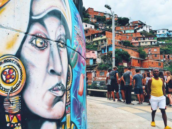 Lustrumreis-Colombia-Medellin-Comuna13-123