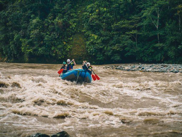 Lustrumreis Ecuador Tena Raften