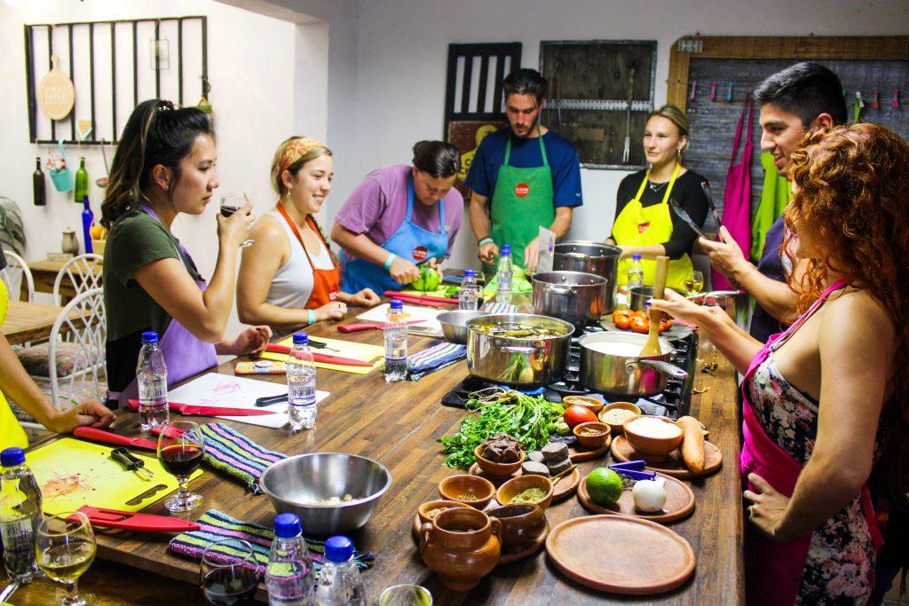 lustrumreis - guatemala - antigua - cooking class - la tortilla 10